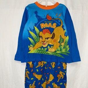 Lion king pajama set